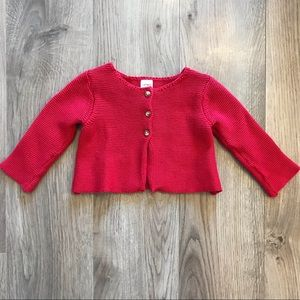 🌸3/$25🌸 really cute red cardigan